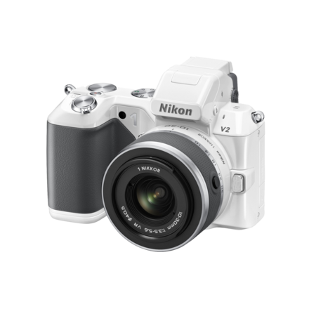Nikon 1 V2 Kit 10-30mm VR (white)