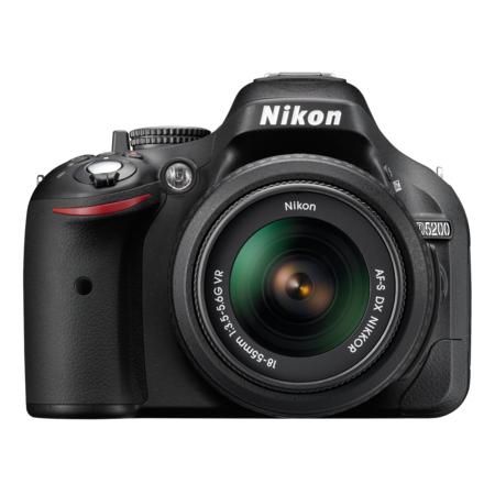 Nikon D5200 kit 18-55mm VR (black)