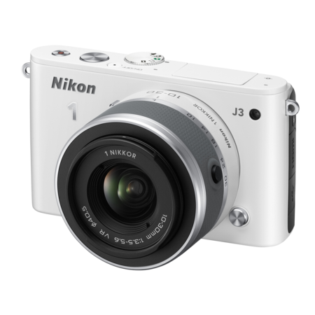 Nikon 1 J3 Kit 10-30mm VR (white)