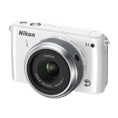 Nikon 1 S1 Kit 11-27.5mm (white)
