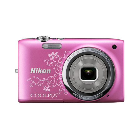 Nikon COOLPIX S2700 (pink lineart)