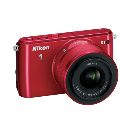 Nikon 1 S1 Kit 11-27.5mm (red)