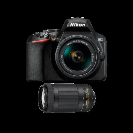 Nikon D3500 Kit AF-P 18-55VR + AF-P 70-300 VR