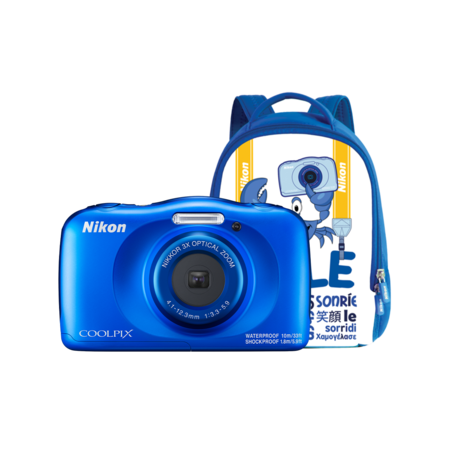 Nikon COOLPIX WATERPROOF W150 backpack kit (blue)