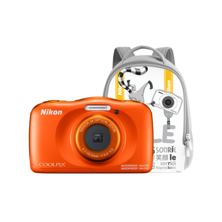 Nikon COOLPIX WATERPROOF W150 backpack kit (orange)