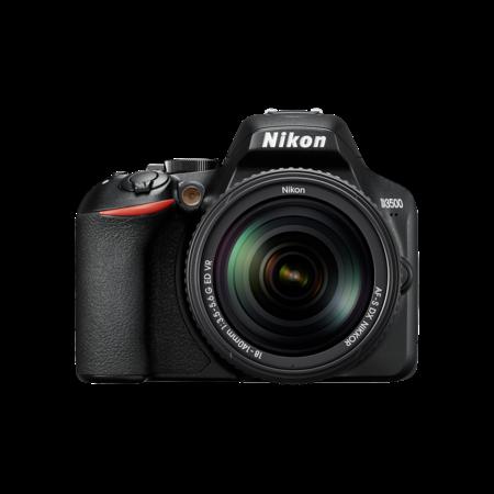 Nikon D3500 kit 18-140mm VR (black)