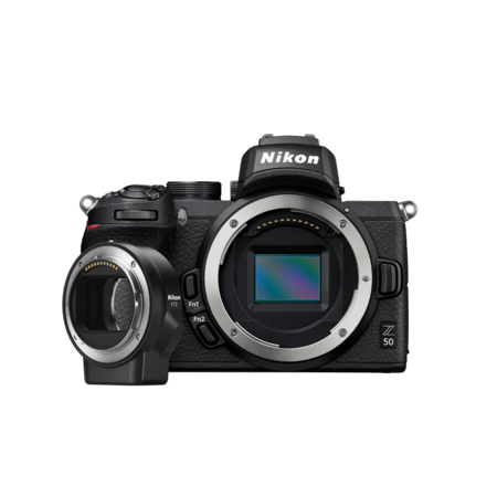 Nikon Z50 body + FTZ