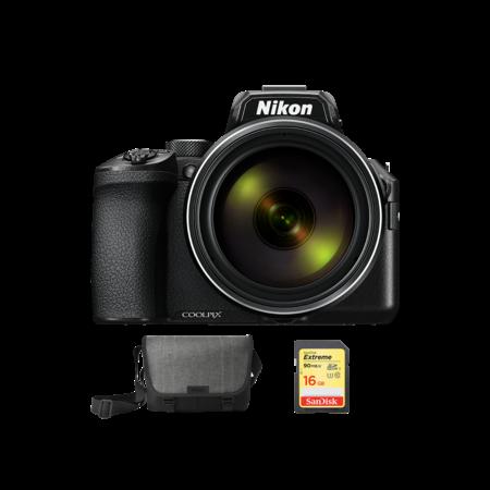 Nikon COOLPIX P950 + geanta  + card SDHC
