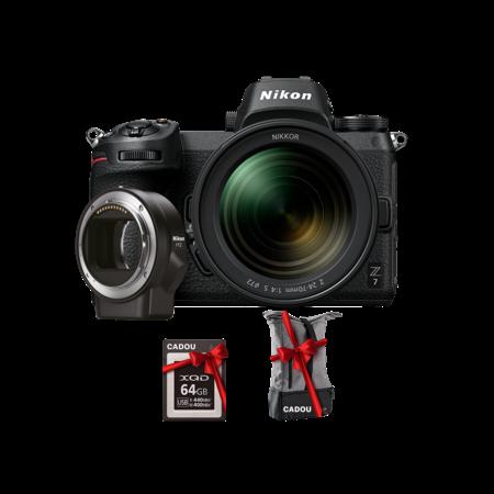 Nikon Z7 kit 24-70mm f/4 S + FTZ