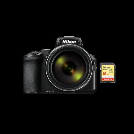 Nikon COOLPIX P950 + card 16GB SD