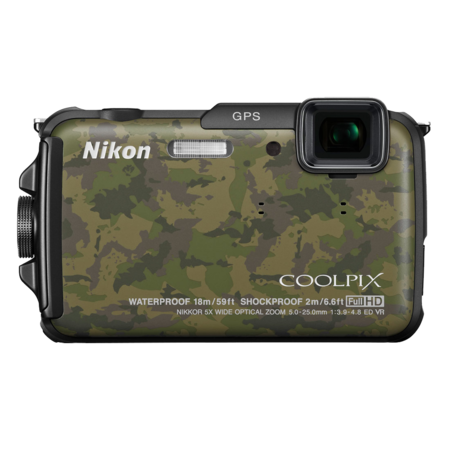 Nikon COOLPIX WATERPROOF AW110 (camouflage)