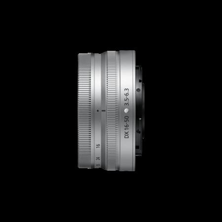Nikon Z DX 16-50mm f/3.5-6.3 VR NIKKOR silver