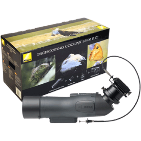 Nikon Digiscoping Kit + S5100