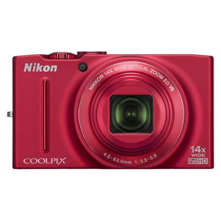 Nikon COOLPIX S8200 (red)