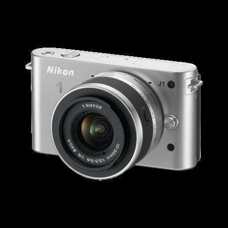 Nikon 1 J1 Kit 10-30mm VR (silver)