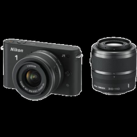 Nikon 1 J1 DualKit 10-30mm + 30-110mm VR (black)