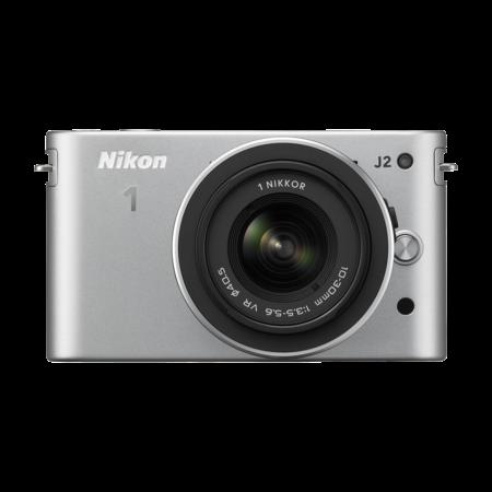 Nikon 1 J2 Kit 10-30mm VR (silver)