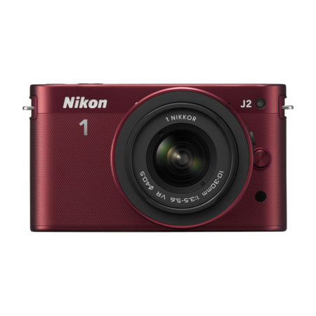 Nikon 1 J2 Kit 10-30mm VR (red)