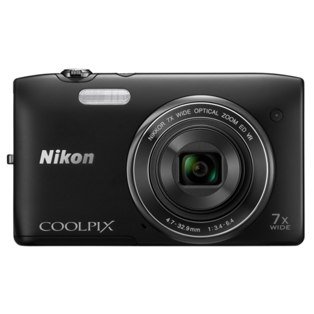 Nikon COOLPIX S3500 (black)