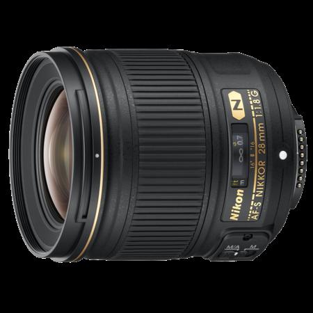 Nikon 28mm f/1.8G AF-S NIKKOR