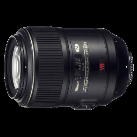 Nikon 105mm f/2.8G IF-ED AF-S VR Micro NIKKOR