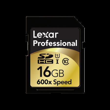 Lexar Professional SDHC 16GB CLS10 UHS-I 90MB/s