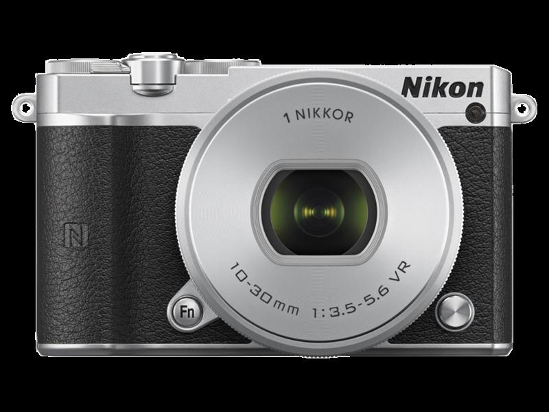 Nikon 1 J5 Kit 10-30mm VR PD-Zoom (silver)