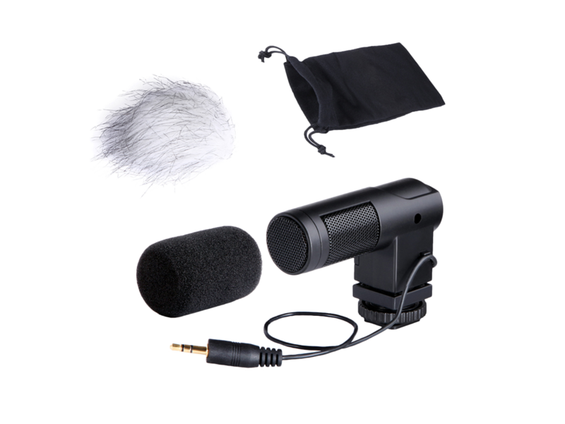Microfon Boya By-v01 - Mini Stereo Microphone