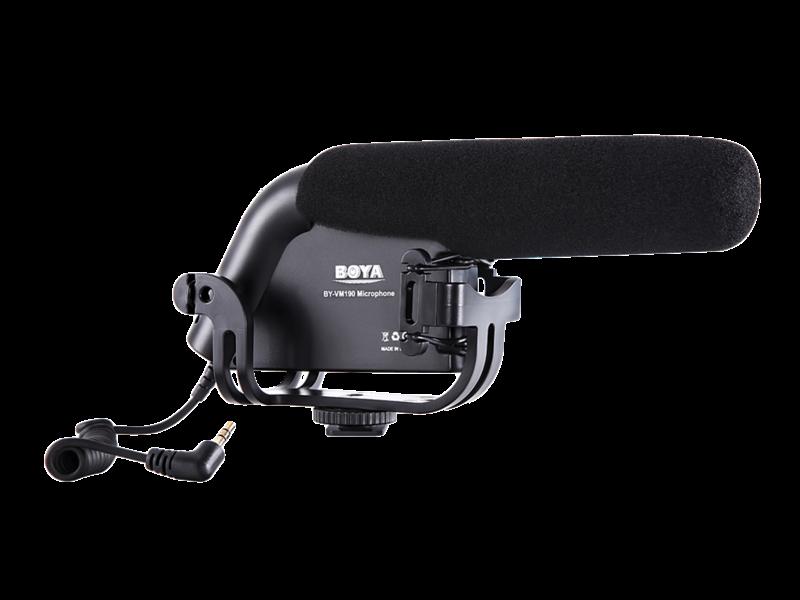Microfon Boya By-vm190 - Shotgun Condenser Microphone