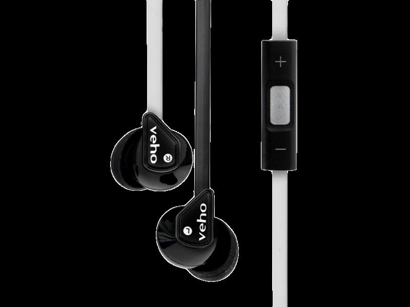 Casti Cu Fir Veho 360 Z-2 Earbuds (black/white)