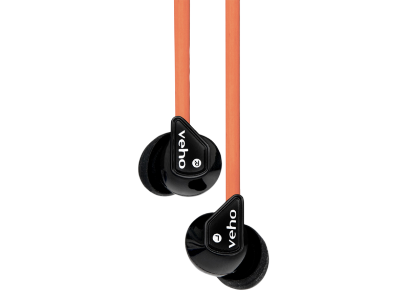 Casti Cu Fir Veho 360 Z-1 Earbuds (black/orange)