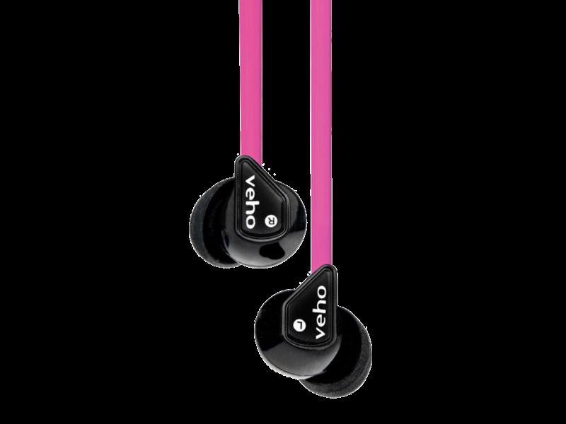 Casti Cu Fir Veho 360 Z-1 Earbuds (pink)