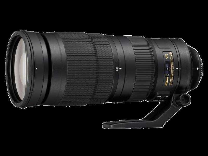 200-500mm f/5.6E ED VR AF-S NIKKOR