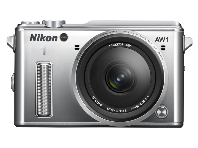 Nikon 1 AW1 Kit 11-27.5mm (silver)