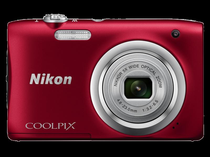 COOLPIX A100 (red)