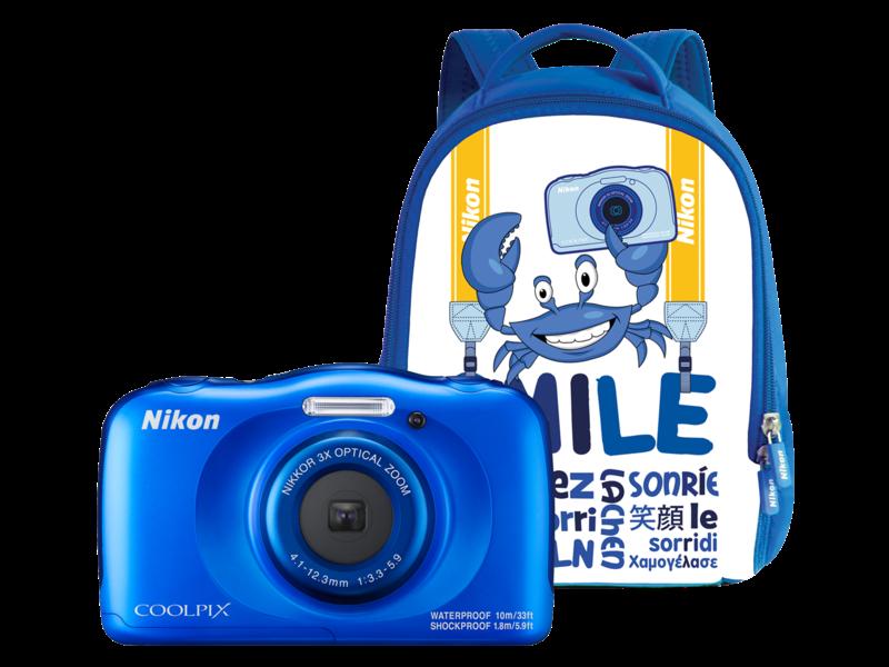 COOLPIX WATERPROOF W100 backpack kit (blue)