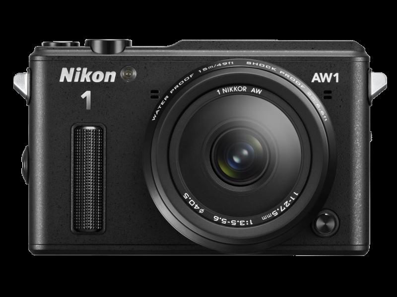 Nikon 1 AW1 Kit 11-27.5mm (black)