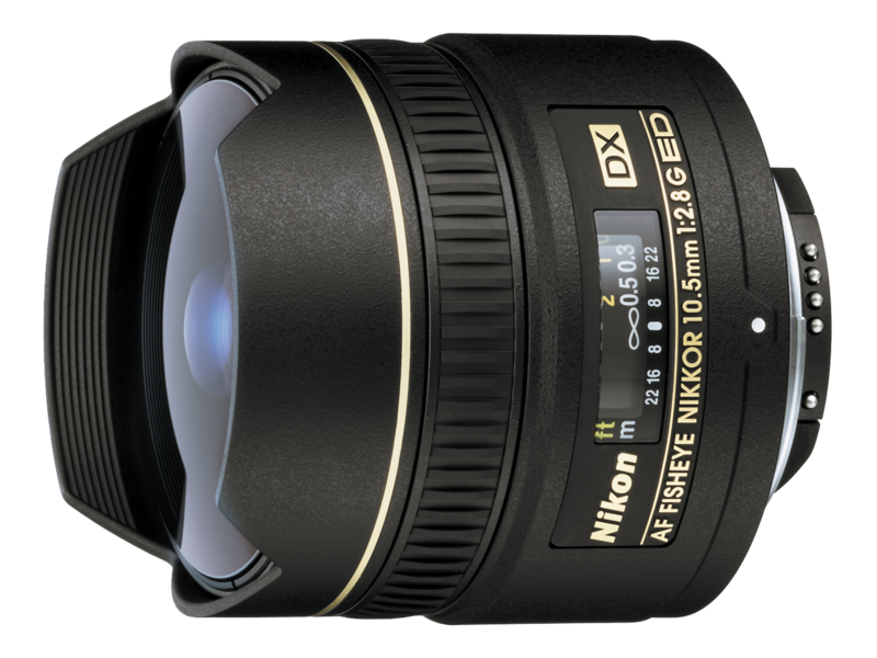 Imagine 10.5mm F2.8g Ed Af Dx Fisheye Nikkor