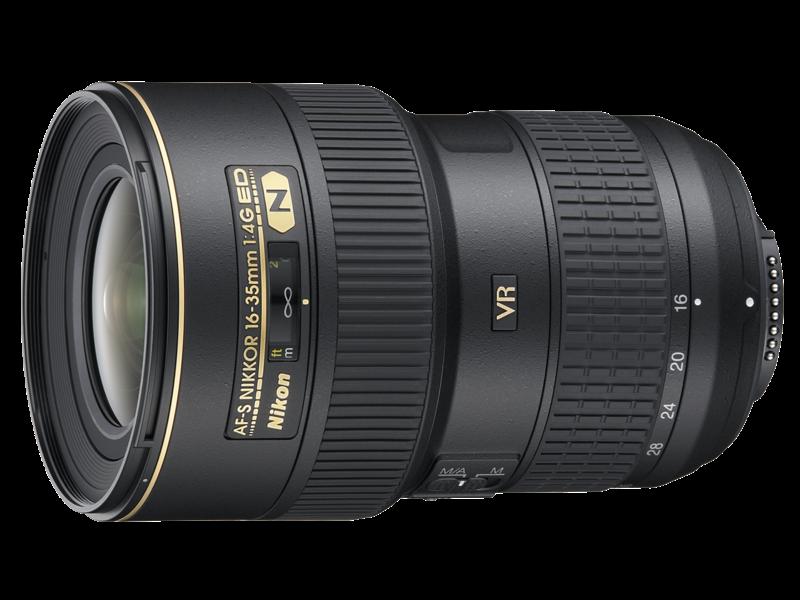 16-35mm f/4G ED VR AF-S NIKKOR