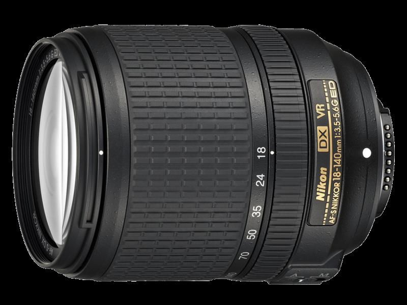 18-140mm f/3.5-5.6G ED VR AF-S DX NIKKOR
