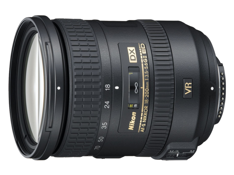 Imagine 18 200mm F3.5 5.6g Ed Vr Ii Af s Dx Nikkor