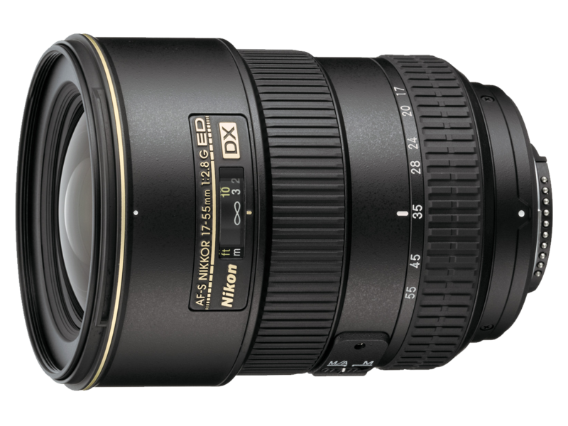 17-55mm f/2.8G IF-ED AF-S DX NIKKOR