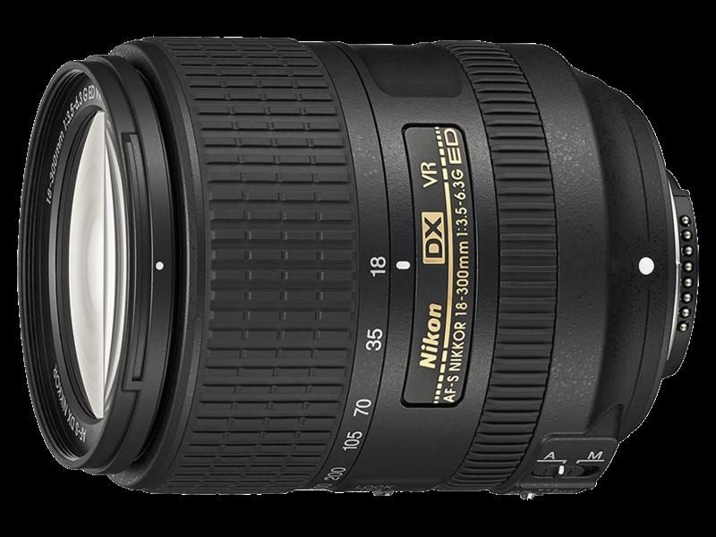 18-300mm f/3.5-6.3G ED VR AF-S DX NIKKOR