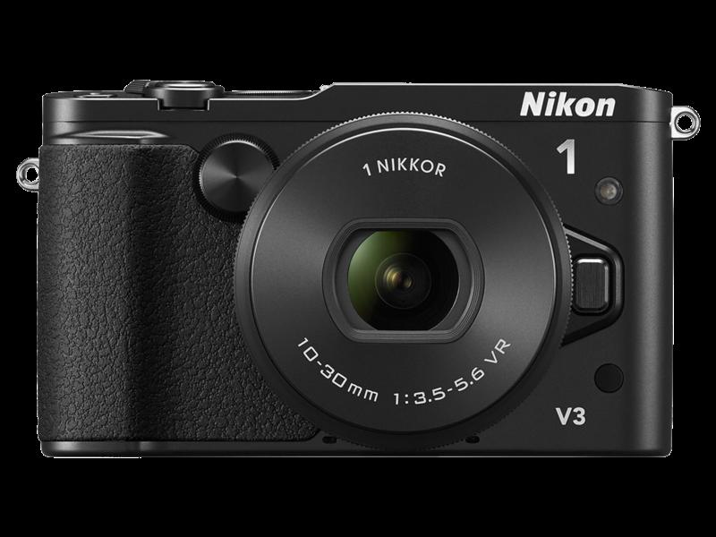 Nikon 1 V3 Kit 10-30mm VR PD-Zoom (black)